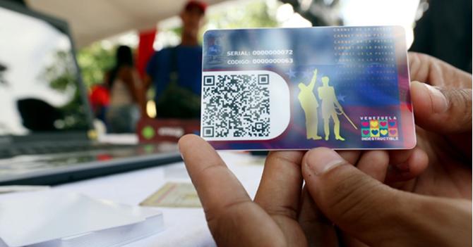 CNE: Simulacro de chequeo del Carnet de la Patria ha sido un éxito