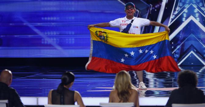 Señor gana America's Got Talent mostrando cómo hace para que su negocio no quiebre en Venezuela