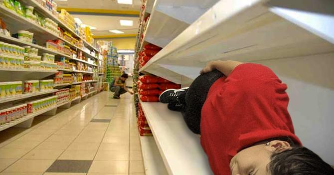 SUNDDE fiscaliza supermercado y lo obligan a vender sus empleados