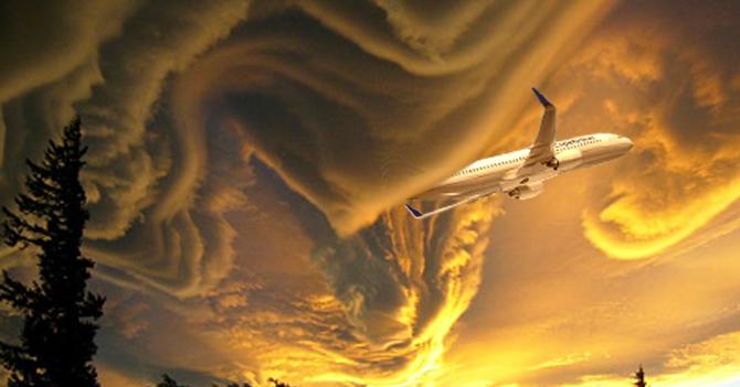 Pilotos de aerolíneas se quejan por pésimo estado del cielo venezolano