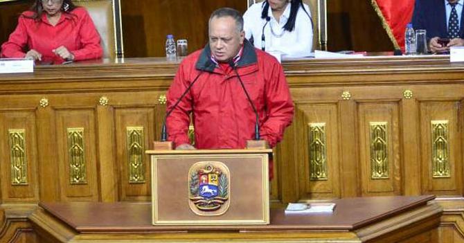 Diosdado anuncia robo de elecciones antes del 30 de abril