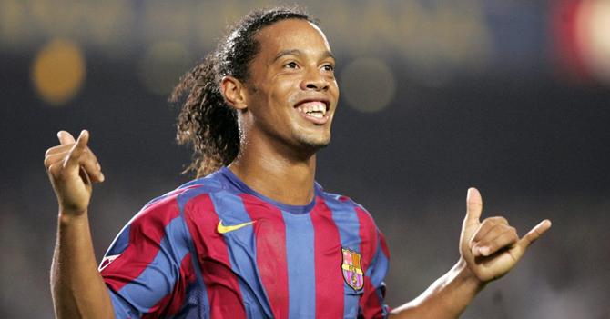 La carrera de Ronaldinho en números