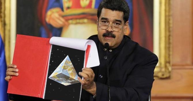 """Maduro: """"La tierra no es redonda, es triangular"""""""