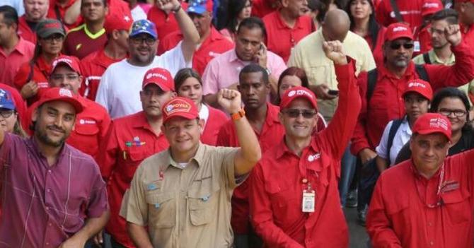 PDVSA descubre en sus oficinas las reservas de empleados improductivos más grandes del mundo