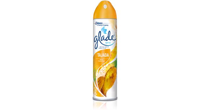 Glade presenta nuevo ambientador con aroma a tajadas