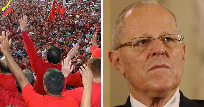 PSUV celebra renuncia de PPK por caso de corrupción donde está metido el PSUV