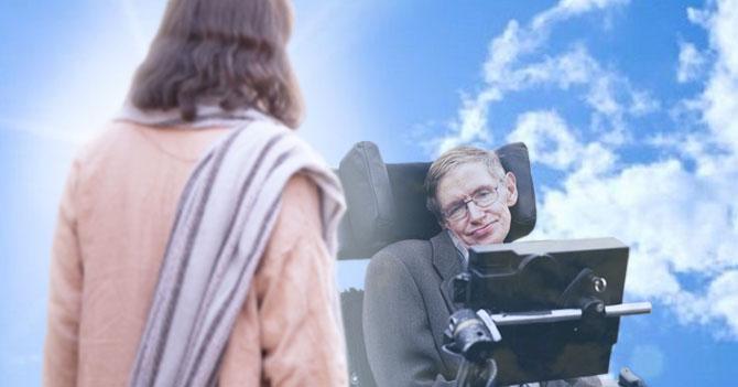 """Stephen Hawking conoce a Dios y le dice: """"coño, perdón"""""""