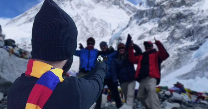 Expedicionistas denuncian que fueron robados en la cumbre del Everest por malandros caraqueños