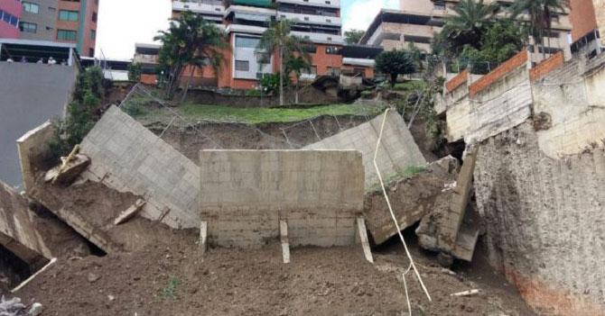 Se cumplen 5 años de la caída del muro de contención