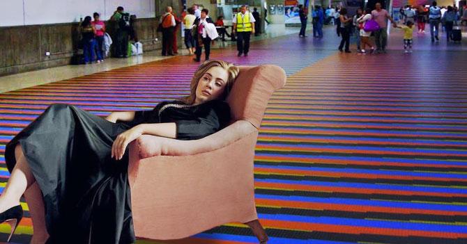 Adele busca inspiración para nuevo disco en Maiquetía