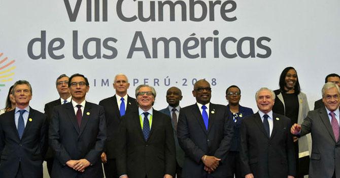 Cumbre de las Américas manda un claro mensaje al pueblo venezolano: aguanten, todo tiene solución, o quizás no, tengan calma, si van a emigrar háganlo con orden