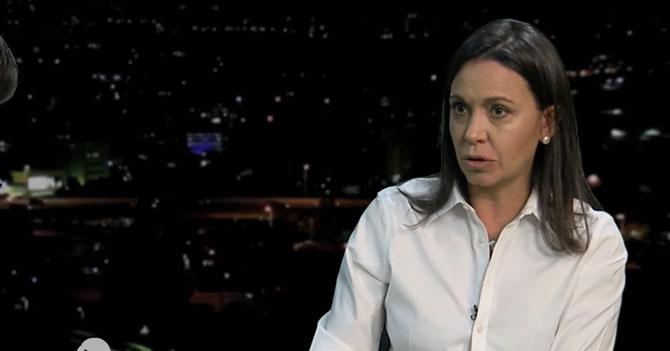 Reporte Semanal - Entrevista a María Corina Machado