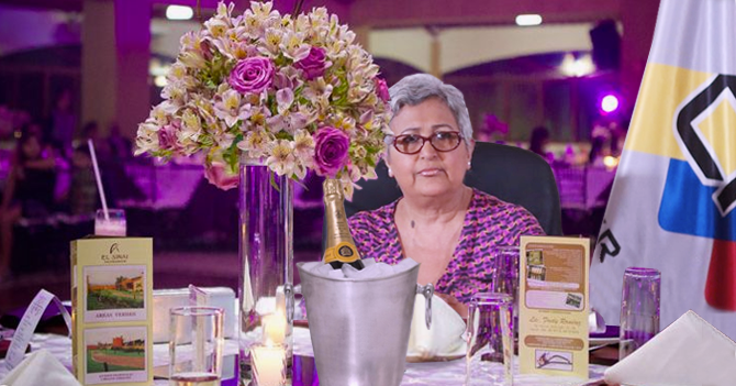 Tibisay Lucena y el CNE celebran bodas de plata