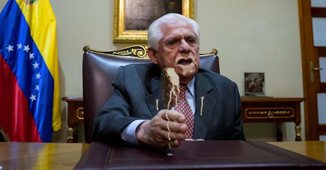 Omar Barboza tendrá prohibido declarar hasta que logre comerse un helado completo sin ensuciarse
