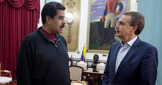 Zapatero le pregunta a Maduro si le da el fin de semana libre