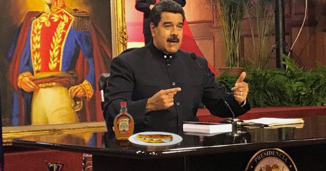 Canadá le prohíbe a Maduro ponerle maple a las cachapas