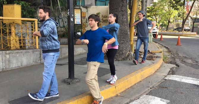 Fallas de transporte público convierte a Venezuela en potencia mundial de la marcha olímpica