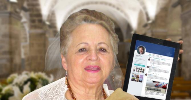 Señora del Cafetal contrae matrimonio con tuit de Marco Rubio