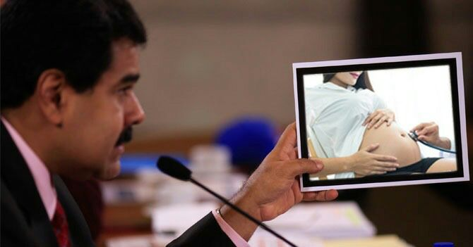 Maduro quita 5 meses al embarazo