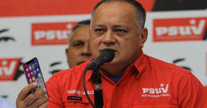 Diosdado afirma que llamó a Luisa Ortega porque se le disparó la llamada