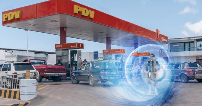 """Viajero del tiempo del año 2165: """"todavía seguimos pagando Bs.6 por el litro de gasolina"""""""