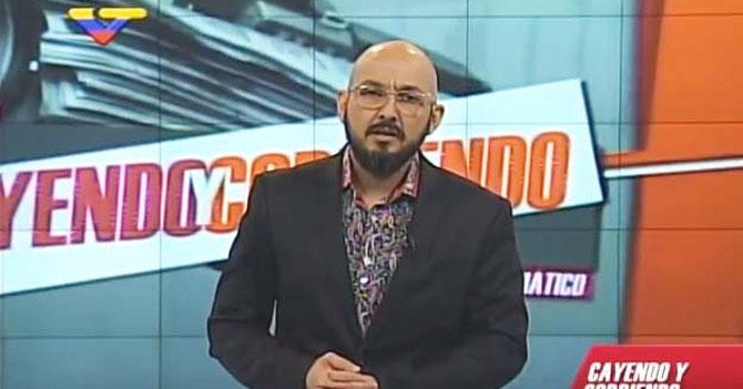 Pérez Pirela habla mal del Gobierno y Conatel no se entera porque no ve VTV