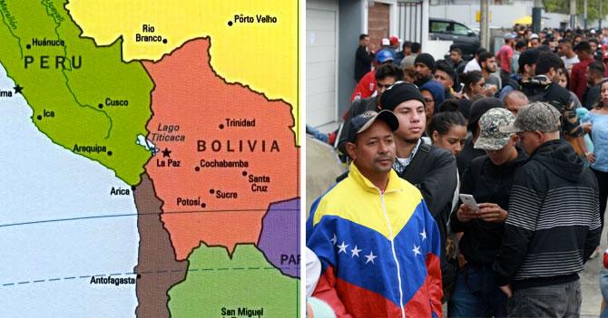 Perú ofrece salida al mar a Bolivia si se queda con algunos venezolanos