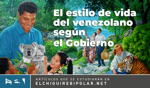 INFOGRAFÍA: El estilo de vida del venezolano según el Gobierno