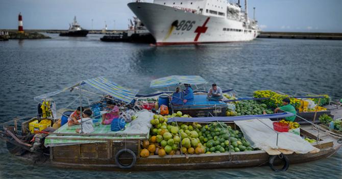 Gobierno niega escasez de alimentos permitiendo la entrada al país del buque abasto chino
