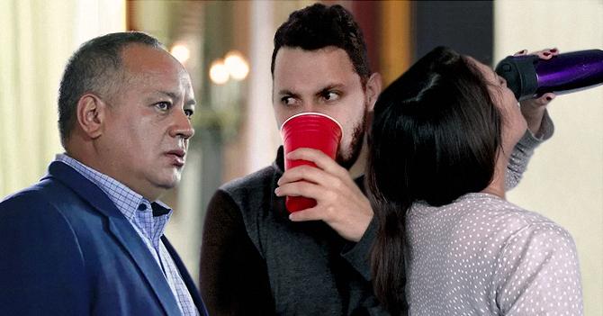 Diosdado aparece en reunión para reemplazar a amigo que emigró
