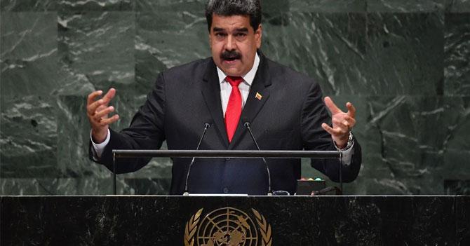 Maduro en la ONU reta a Trump a una batalla de baile