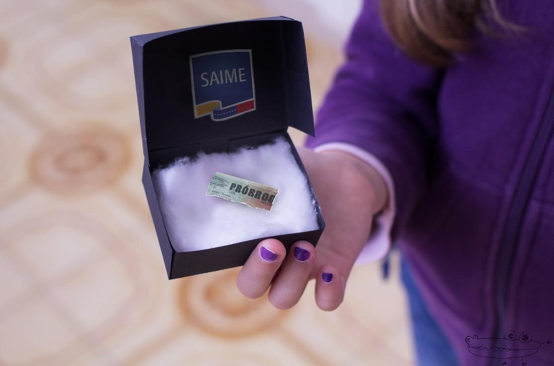 SAIME envía pedazo de prórroga del pasaporte a dueño como fe de vida