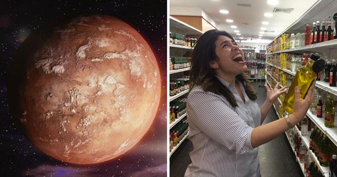 """Habitantes de Marte descubren vida en la Tierra luego de que señora en supermercado gritara al ver precio: """"¿CUÁNTO?"""""""