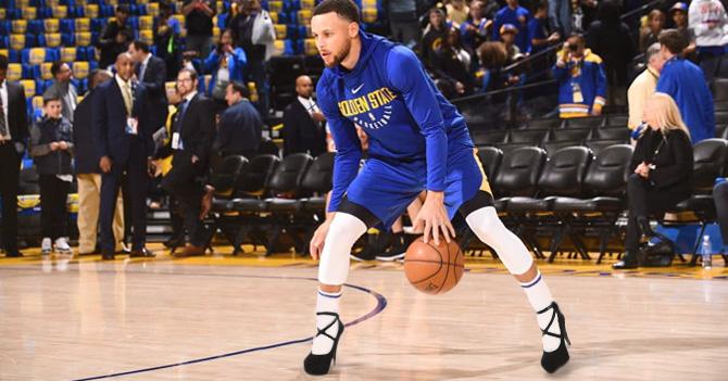 NBA obliga a Golden State a jugar en tacones para mantener la competitividad