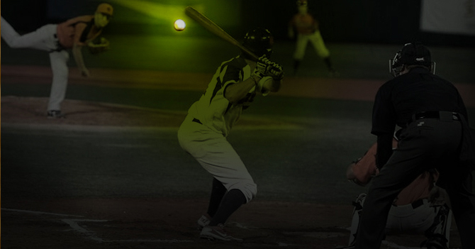 Liga de Béisbol comenzará a jugar con pelotas fosforescentes por si hay un apagón