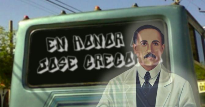 José Gregorio pide disculpas a chófer que puso autobús en su honor por no poder ayudarlo con los repuestos