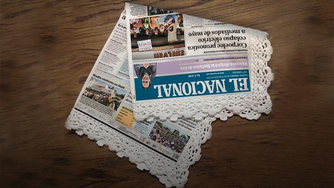 Periódico venezolano imprime noticias en pañuelos para que lectores puedan secarse las lágrimas