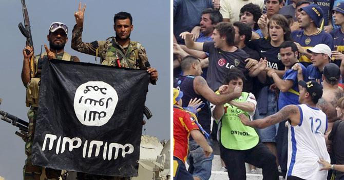 ISIS se desliga de cualquier cosa que pueda pasar en final entre Boca y River