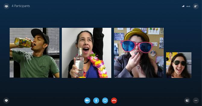 Venezolanos empiezan a rumbear por Skype