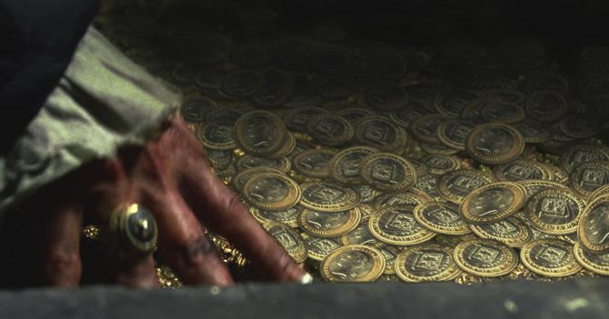 Piratas decepcionados al encontrar cofre con monedas venezolanas