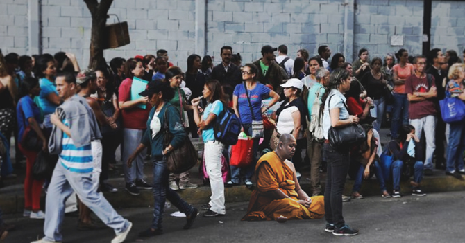Monje tibetano se convierte en única persona en vivir tranquila en Venezuela