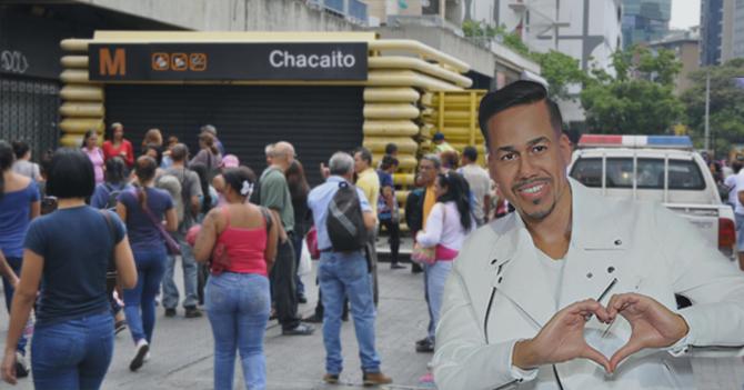 Olor a peligro hace que Romeo Santos venga a Venezuela en busca de aventuras