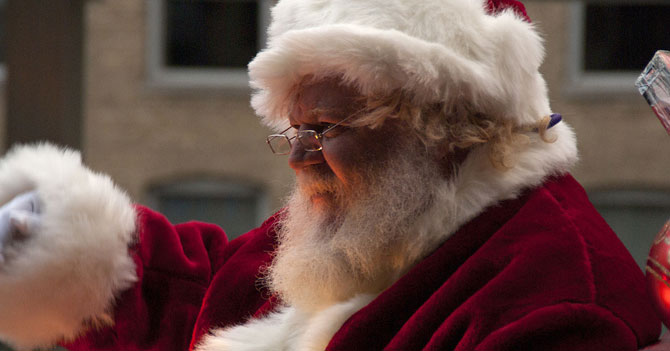 Santa Claus advierte que a su taller no le dieron DICOM
