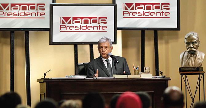 """AMLO anuncia el primer programa de """"Mande, Presidente"""""""