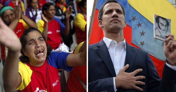 Chavistas comienzan a pedirle casa a Guaidó