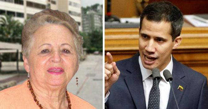 Señora le pregunta a Guaidó ¿qué somos?