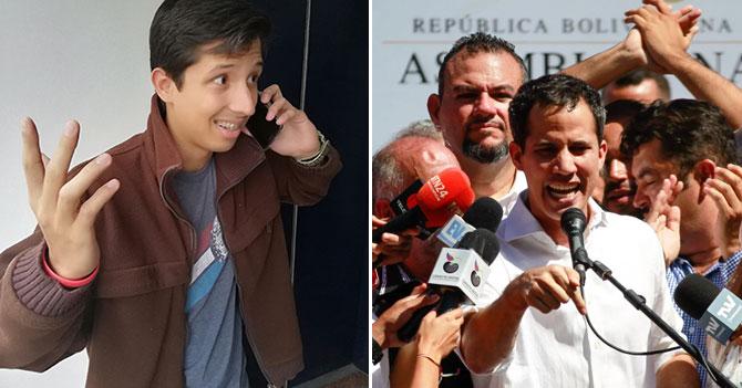 Chamo llama a Guaidó para preguntarle si emigrar o quedarse