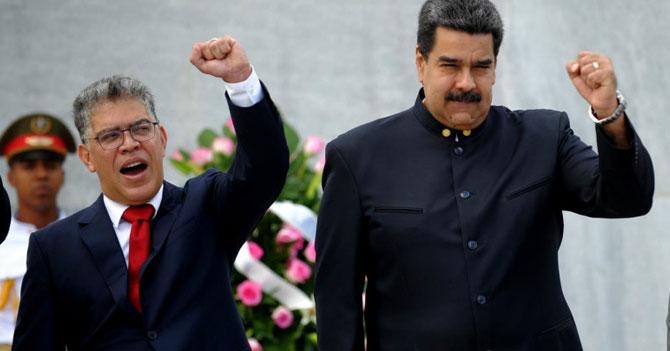 Maduro designa a Elías Jaua como protector de los países que faltaron a su juramentación