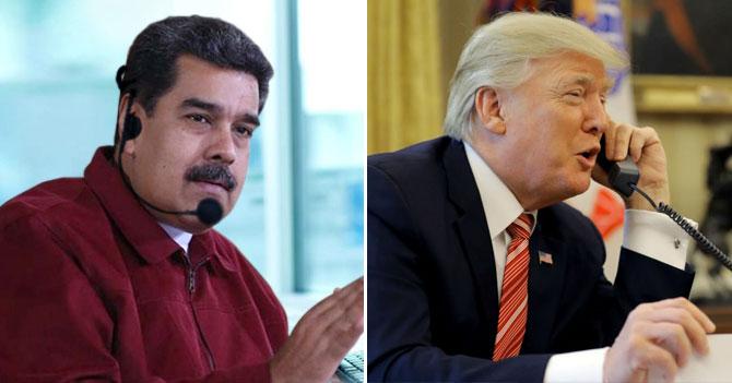 Maduro se hace pasar por operador de Call Center para dialogar con Trump