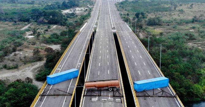 9 rutas por donde pudiera pasar la ayuda humanitaria a Venezuela